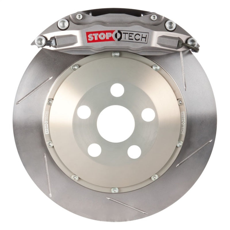 StopTech 00-03 BMW M5 STR-40 Calipers 355x32mm Slotted Rotors Front Trophy Big Brake Kit