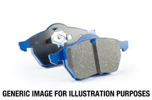 Load image into Gallery viewer, EBC 96-00 Lotus Esprit Turbo 2.0 Turbo GT3 Bluestuff Front Brake Pads