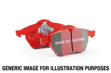 Load image into Gallery viewer, EBC 98-02 Chevrolet Camaro (4th Gen) 3.8 Redstuff Rear Brake Pads