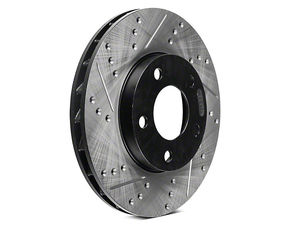 StopTech Select Sport 10-13 Kia Soul / Forte Right Slotted & Drilled Sport Brake Rotor - Rear