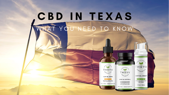 CBD Oil in Texas Dallas Skyline Thryv Organics Hemp Oil