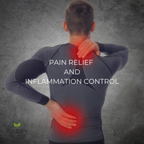 CBD for Pain Relief and Inflammation Control Thryv Organics