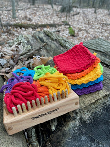 CraftSanity™ Narrow Spaced Coaster Loom Gift Set