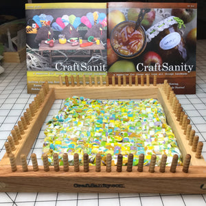 Sale! CraftSanity XL Potholder Loom & TWO print issues of CraftSanity Magazine