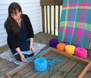 CraftSanity™ Kindred Rug Loom