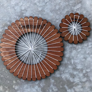 CraftSanity™  Circular Weaving 2-Loom Set