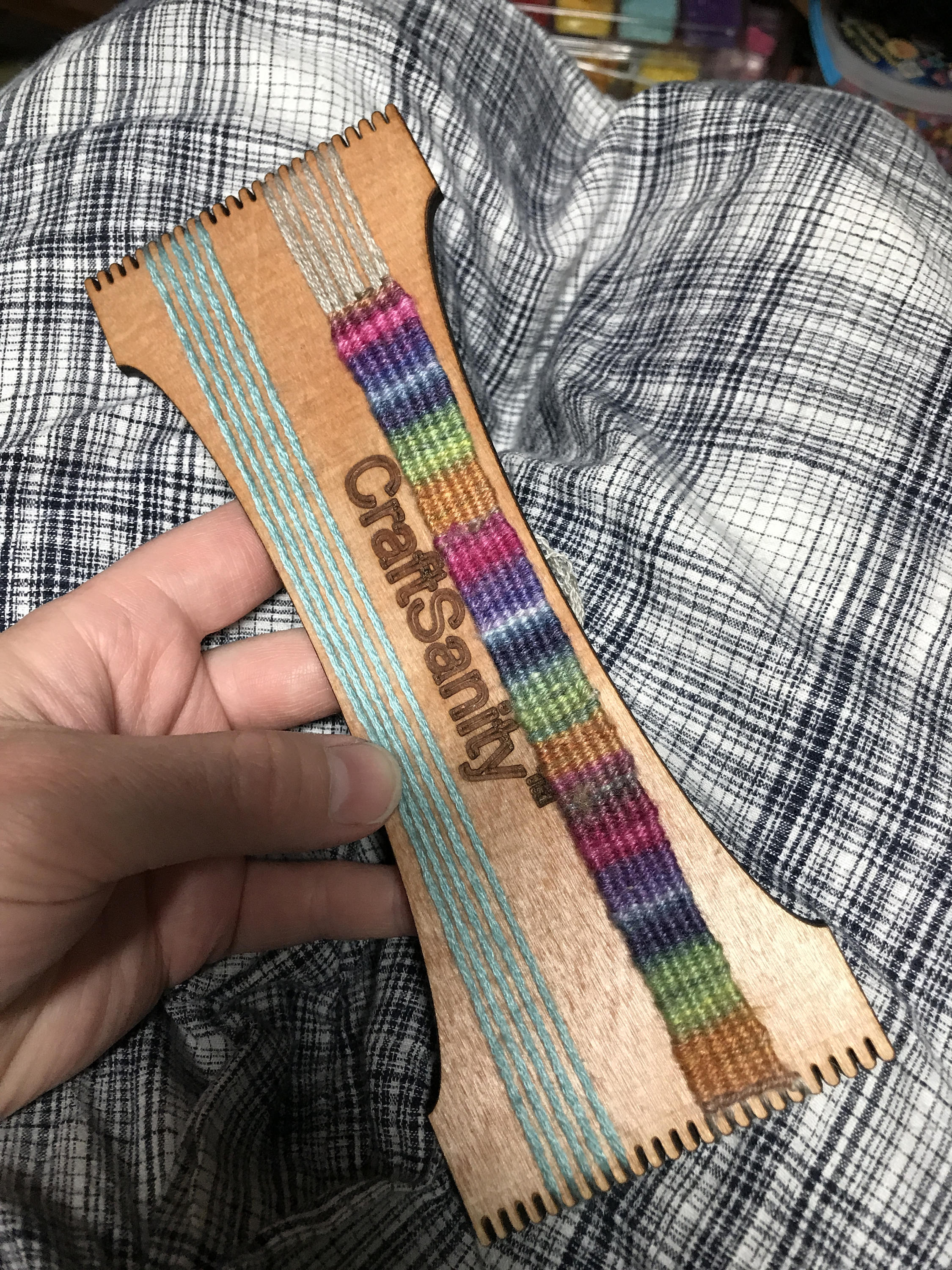 CraftSanity™ Bracelet & Mini Tapestry Loom