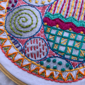 CraftSanity™ Embroidery Samplers