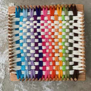 NEW! CraftSanity™ Narrow Spaced Looms - XL, potholder, coaster