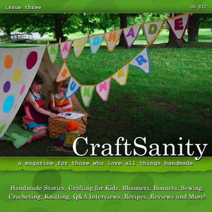 SALE! CraftSanity Magazines in Print