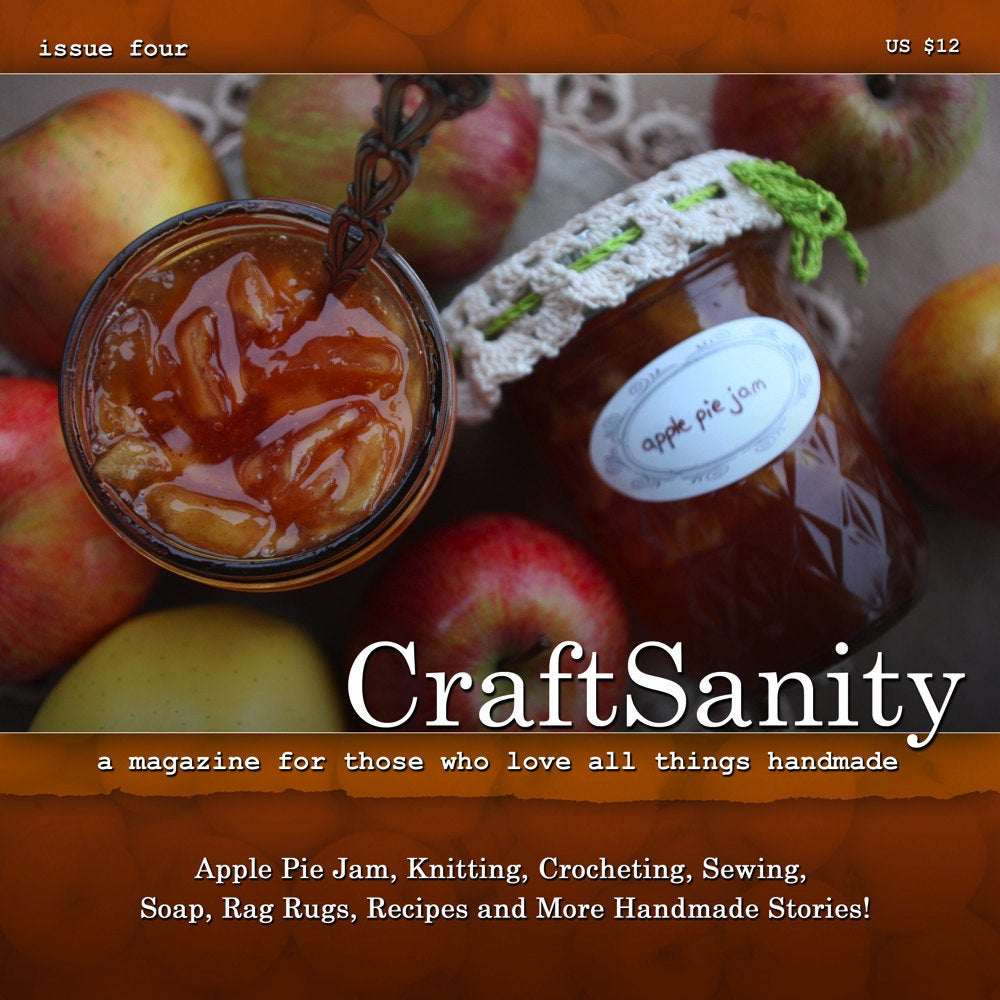 SALE! CraftSanity Magazine Issue 4 Print Edition