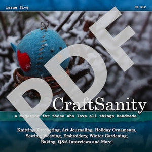 CraftSanity Magazine Issue 5 PDF Edition
