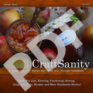 CraftSanity Magazine Issue 4 PDF Edition
