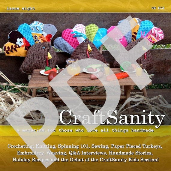 CraftSanity Magazine Issue 8 PDF Edition