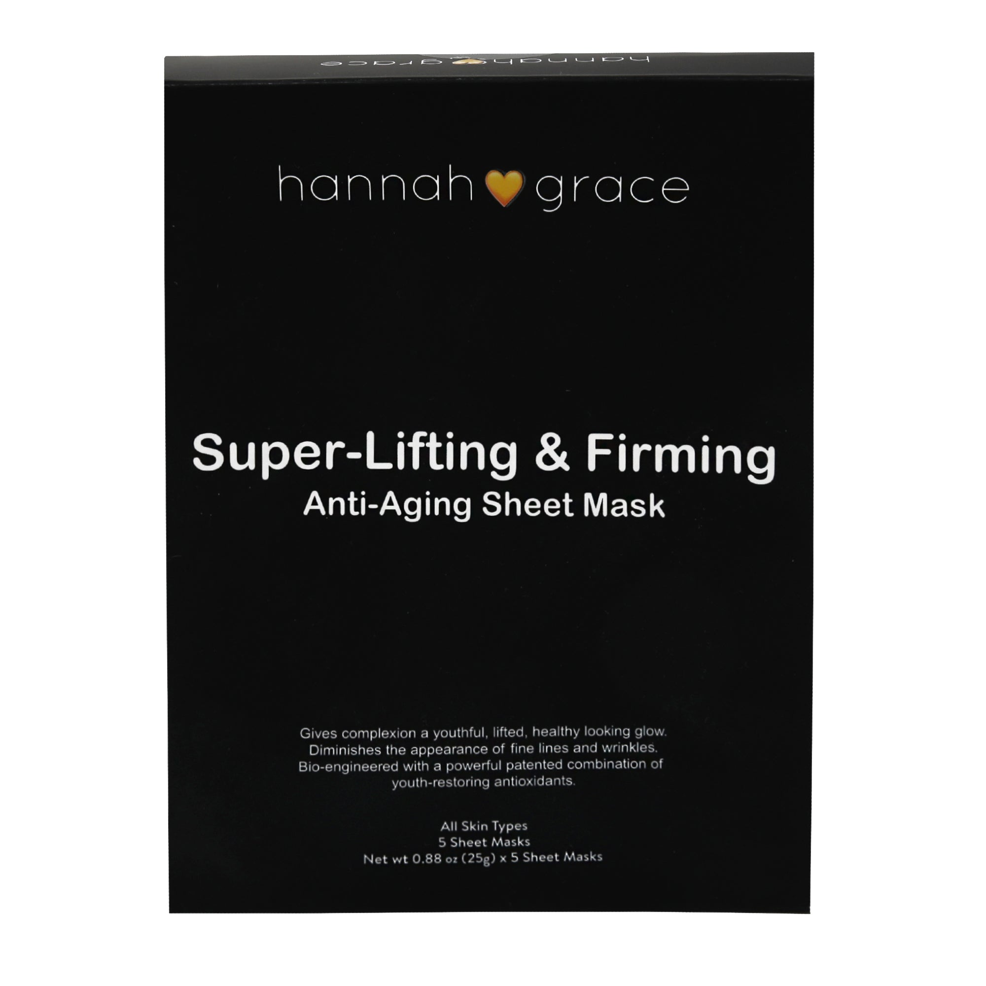 Super-Lifting and Firming Mask - Visibly diminishes lines and wrinkles - 5 pack
