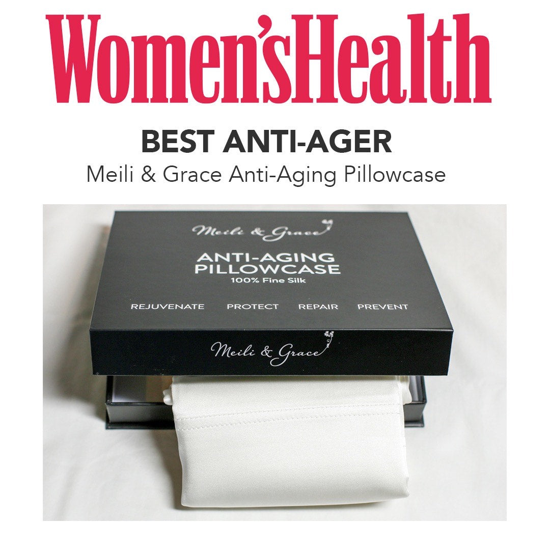 Anti-Aging Pillowcase by Meili and Grace