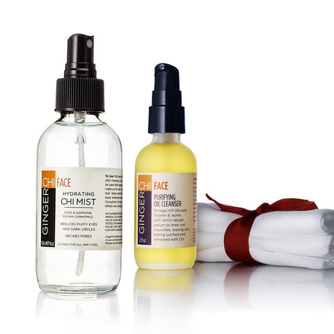 Cleanser & Hydrating Chi Mist Face Set Pack 60ml/2oz