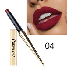 Load image into Gallery viewer, 12  Shade 1PC Waterproof Lipstick Matte Pumpkin Color Finished Matte Lipstick Cosmetics Sexy Plum Cosmetics Makeup Beauty Tools