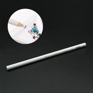 1 pcs Nail Art Tools Rhinestones Gems Picking Crystal Wax Pencil Pen Picker Nail Art Decoration Dotting Tool Make up