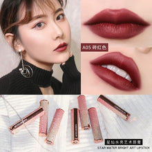 Load image into Gallery viewer, Matte lipstick Angel's lipstick carved mermaid  female Waterproof Velvet Lip Stick 10 color Sexy beauty cosmetic makeup
