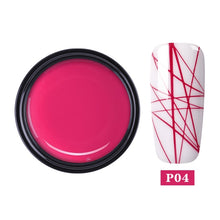 Load image into Gallery viewer, Spider Nail UV Gel Painting Creative Nail Art Gel Polish Wire Drawing Elasticity Point Line Gel varnish Varnish