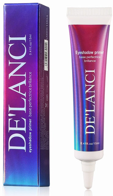 DE'LANCI Eyeshadow Primer Matte Base Long Lasting Color Glitter Eyeshadow Glue Cream Enhance Durable Eye Makeup Oil Control