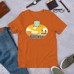 Load image into Gallery viewer, Beach Bum Beards Board Walk Short Sleeve T-Shirt - Beach Bum Beards Care