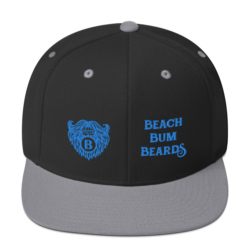 Beach Bum Beards Snapback Hat - Beach Bum Beards Care