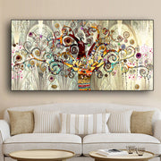 Tree of life Landscape Wall Art Canvas - OBELKIR
