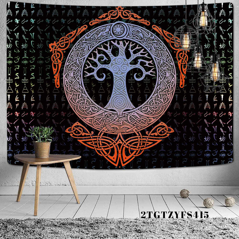 Tree Wall Tapestry By Obelkir Wall Tapestry Tree Wall Tapestry By Obelkir