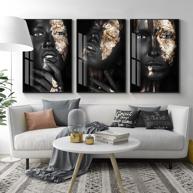 Thinking Face Wall Art Canvas 20x30cm / A+B+C Art print Thinking Face Wall Art Canvas