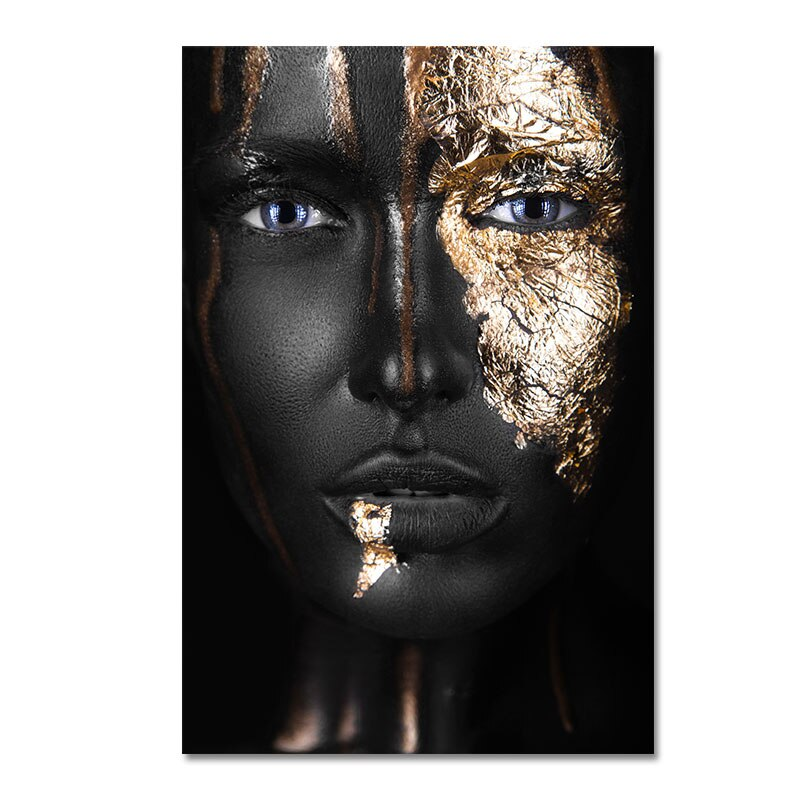 Thinking Face Wall Art Canvas 20x30cm / C Art print Thinking Face Wall Art Canvas