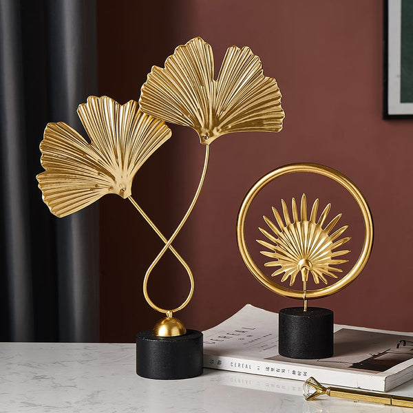 Creative Gold Leaves For home decoration ornaments Creative Gold Leaves For home decoration