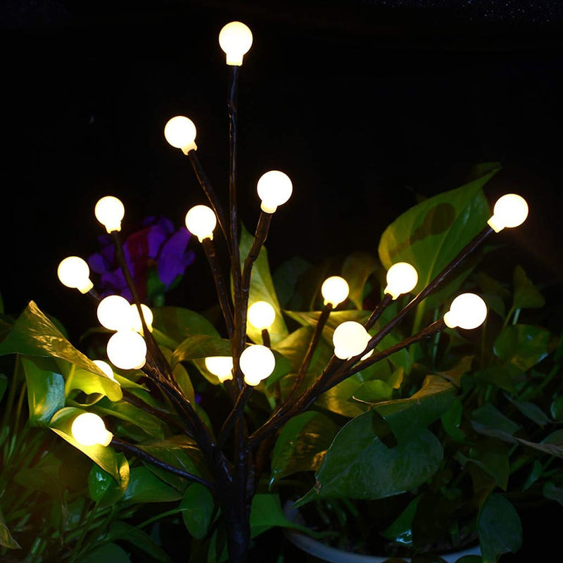 Floral LED Willow Branch Globe ball Lights Floral LED Willow Branch
