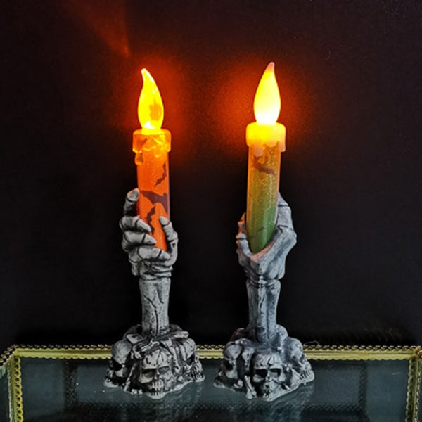 Electric Ghost Hand LED Candle Lights Electric Ghost Hand LED Candle