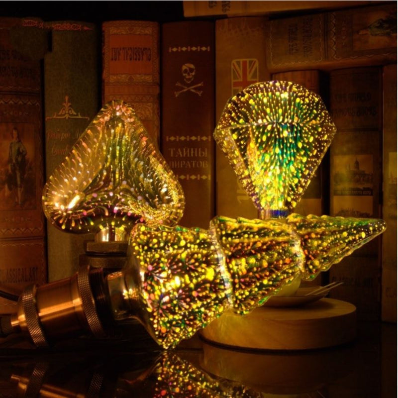 Bulba - 3D Decoration LED Bulb Lights Bulba - 3D Decoration LED Bulb