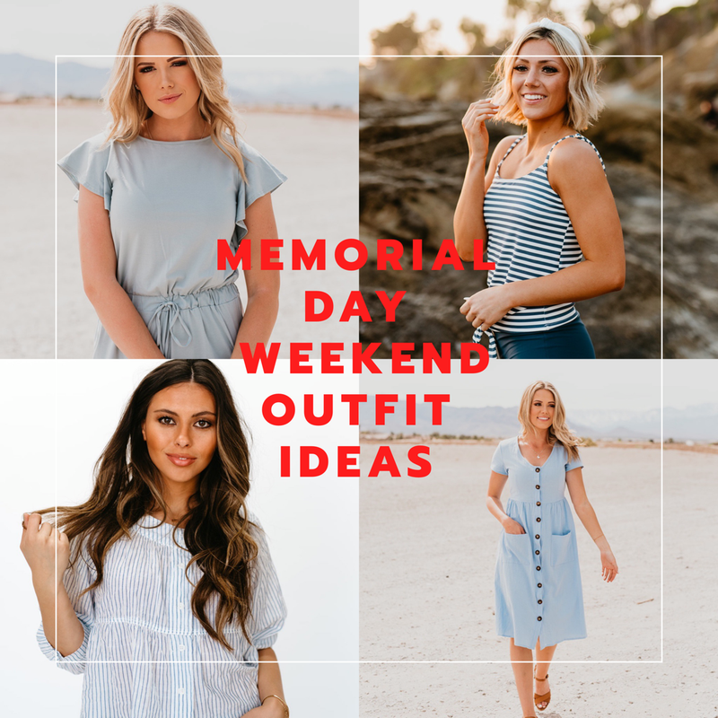 3988ea9529 Four Memorial Day Weekend Outfits