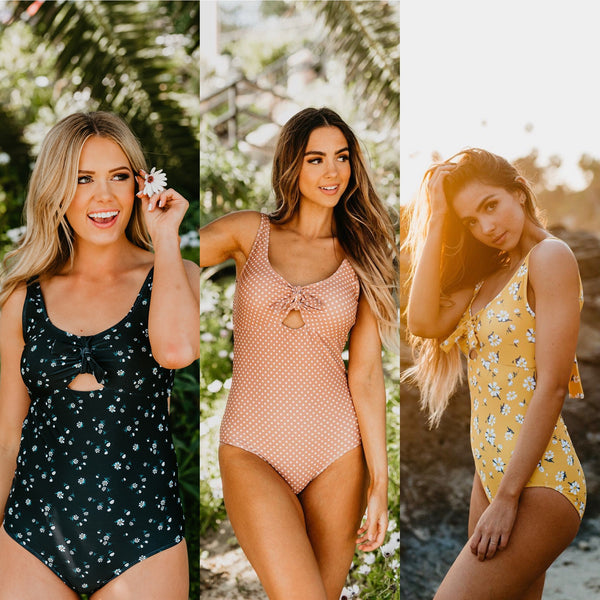 Trendy Modest One Piece Swimsuit