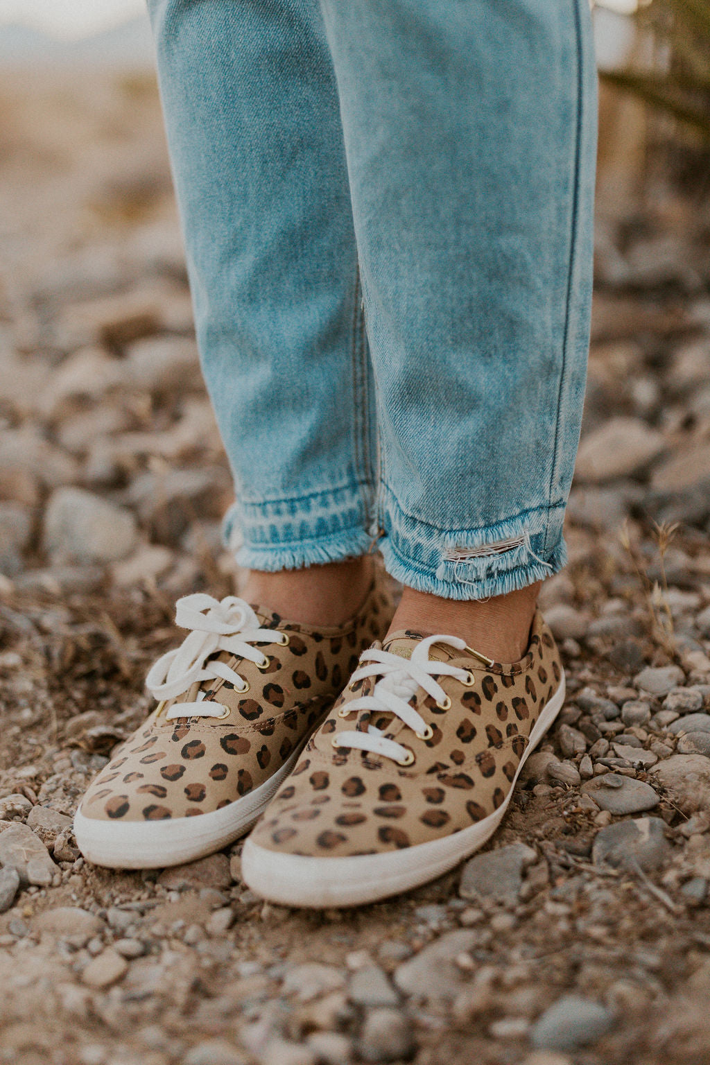 CHAMPION LEOPARD SNEAKERS - KEDS