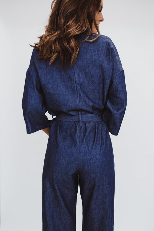 THE LIVELY JUMPSUIT IN DENIM