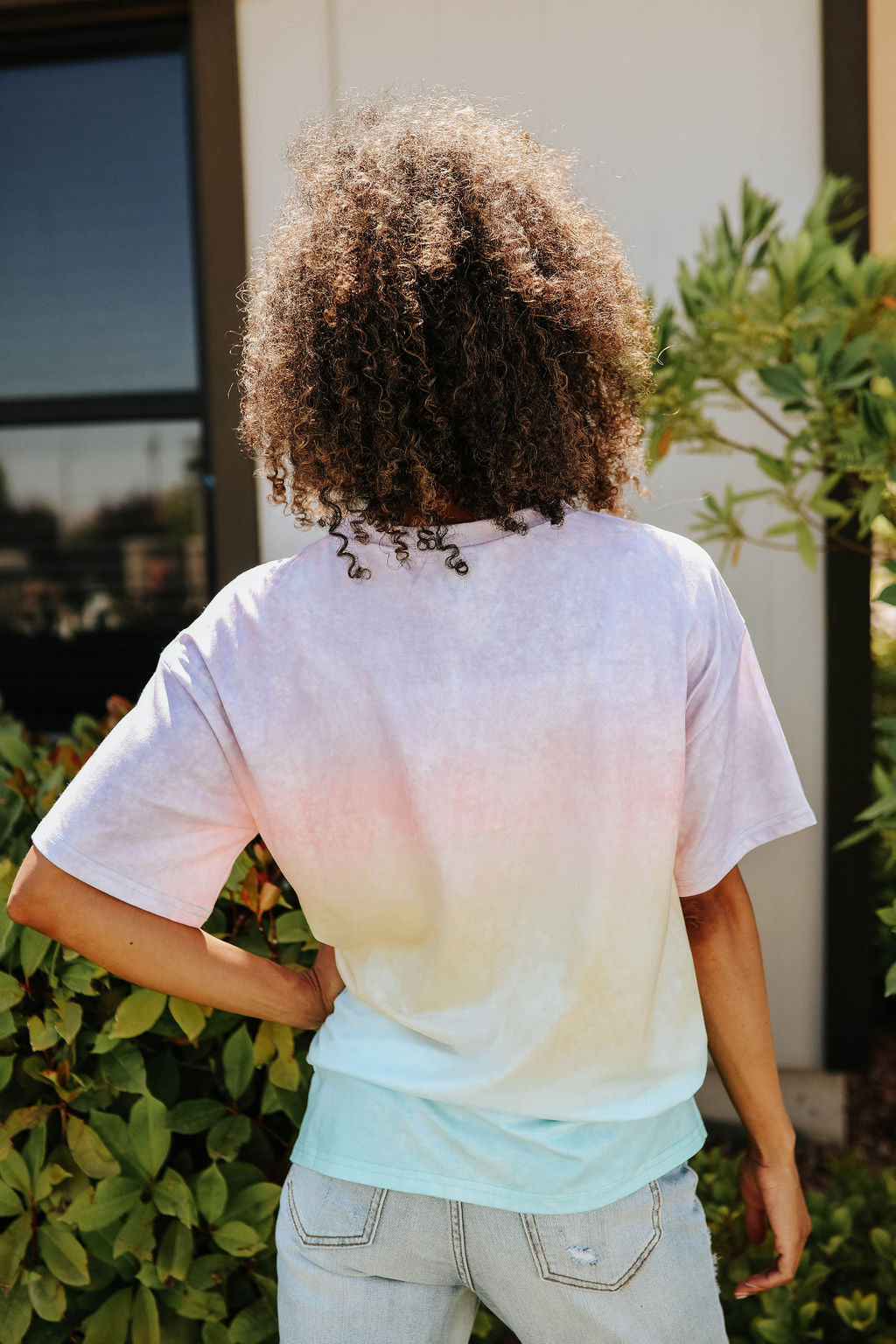 THE SUNSET TIE DYE TOP