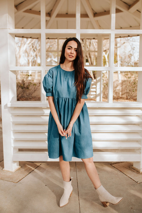 THE DIXIE DENIM DRESS