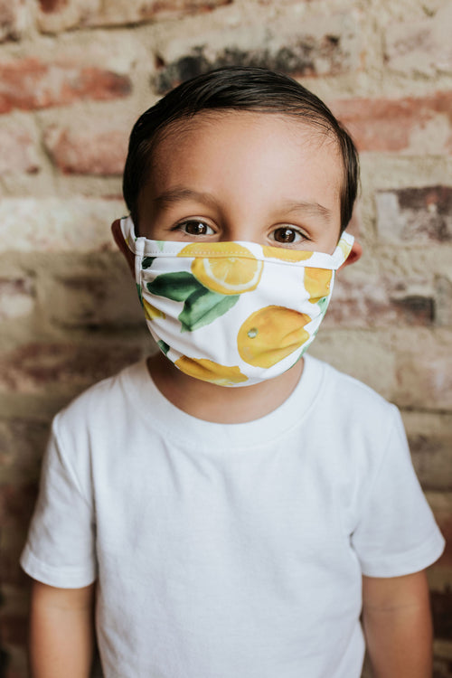 KIDS LEMON LUSH NON-MEDICAL FACE MASK BY PINK DESERT