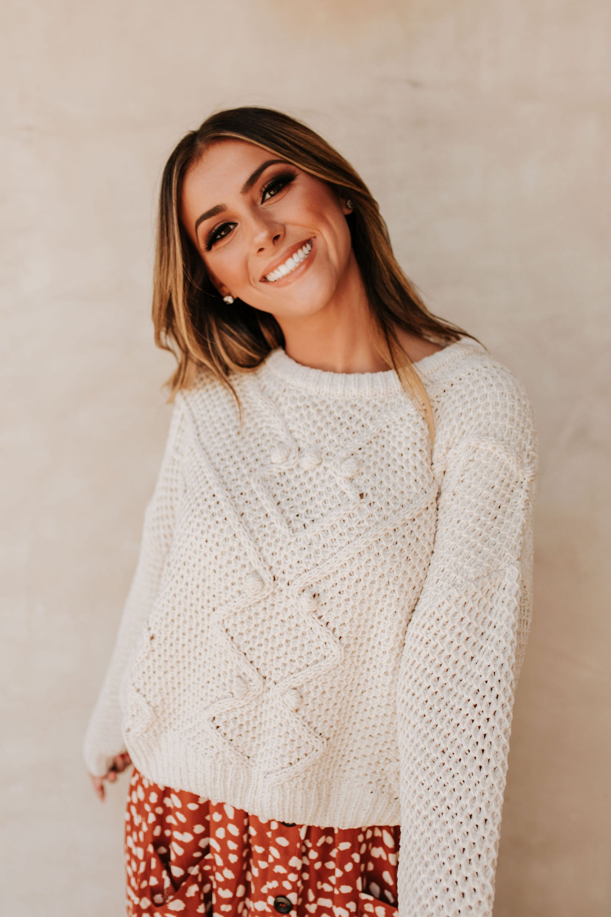THE PAYTON PULLOVER SWEATER IN BUTTER