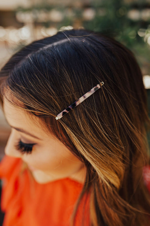 THE HAIR PIN SET IN TORTOISE