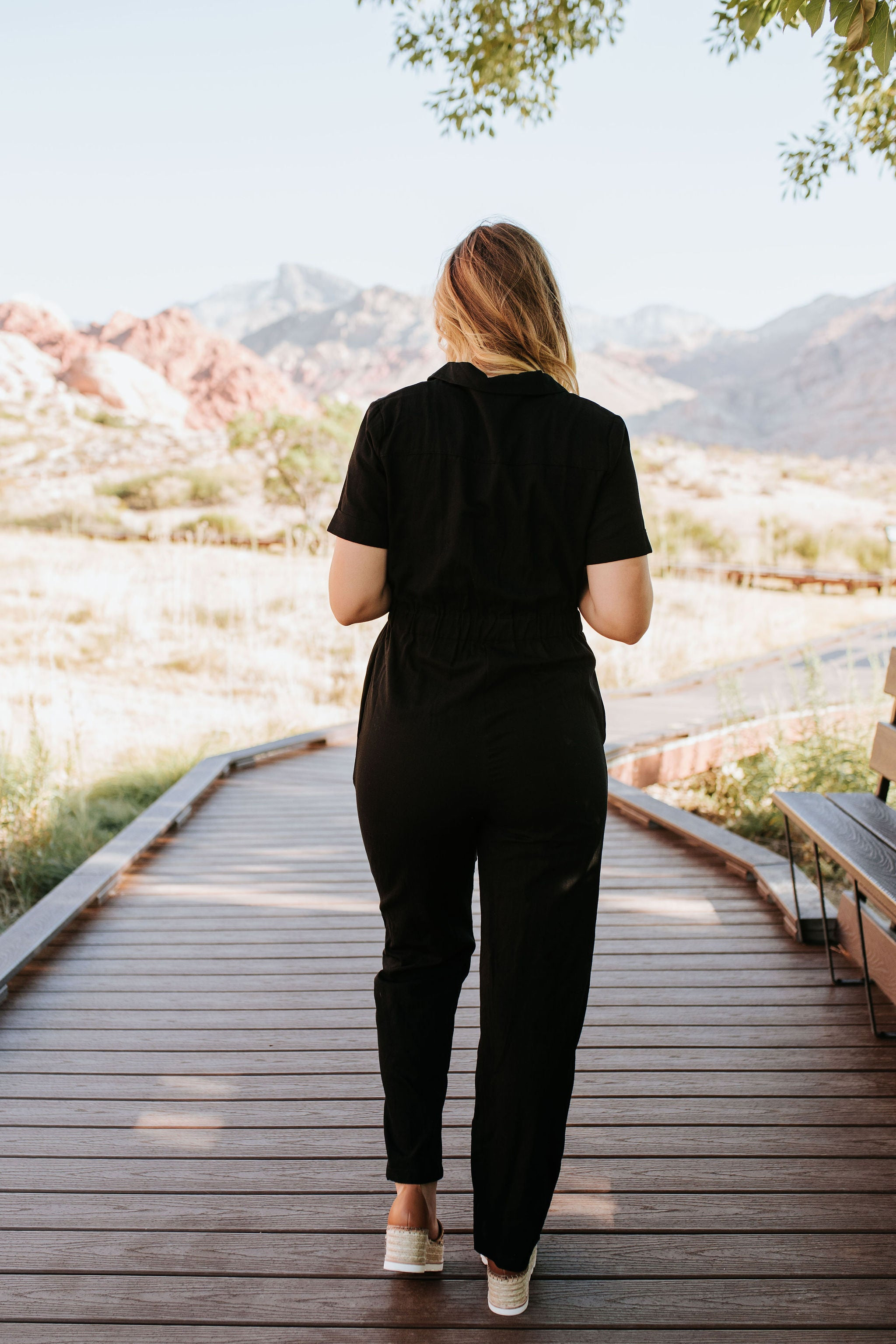 THE GOOD TIMES JUMPSUIT IN BLACK