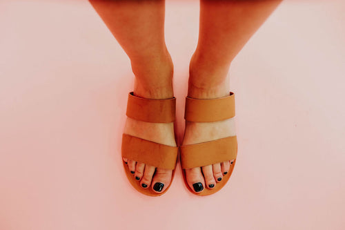THE MOONBEAM SANDAL IN TAN