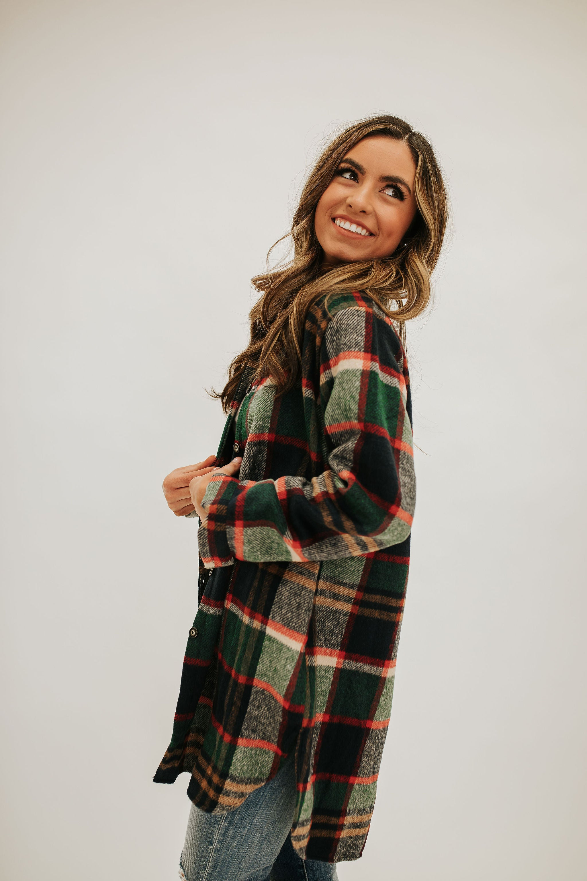 THE FINLEY FLANNEL IN GREEN