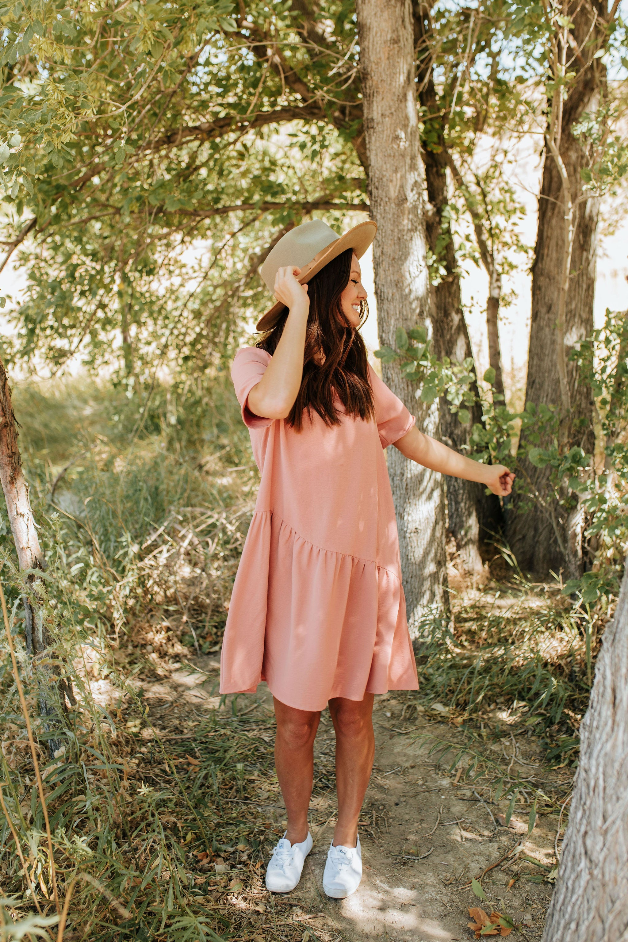 THE P.S. I LOVE YOU DRESS IN MAUVE