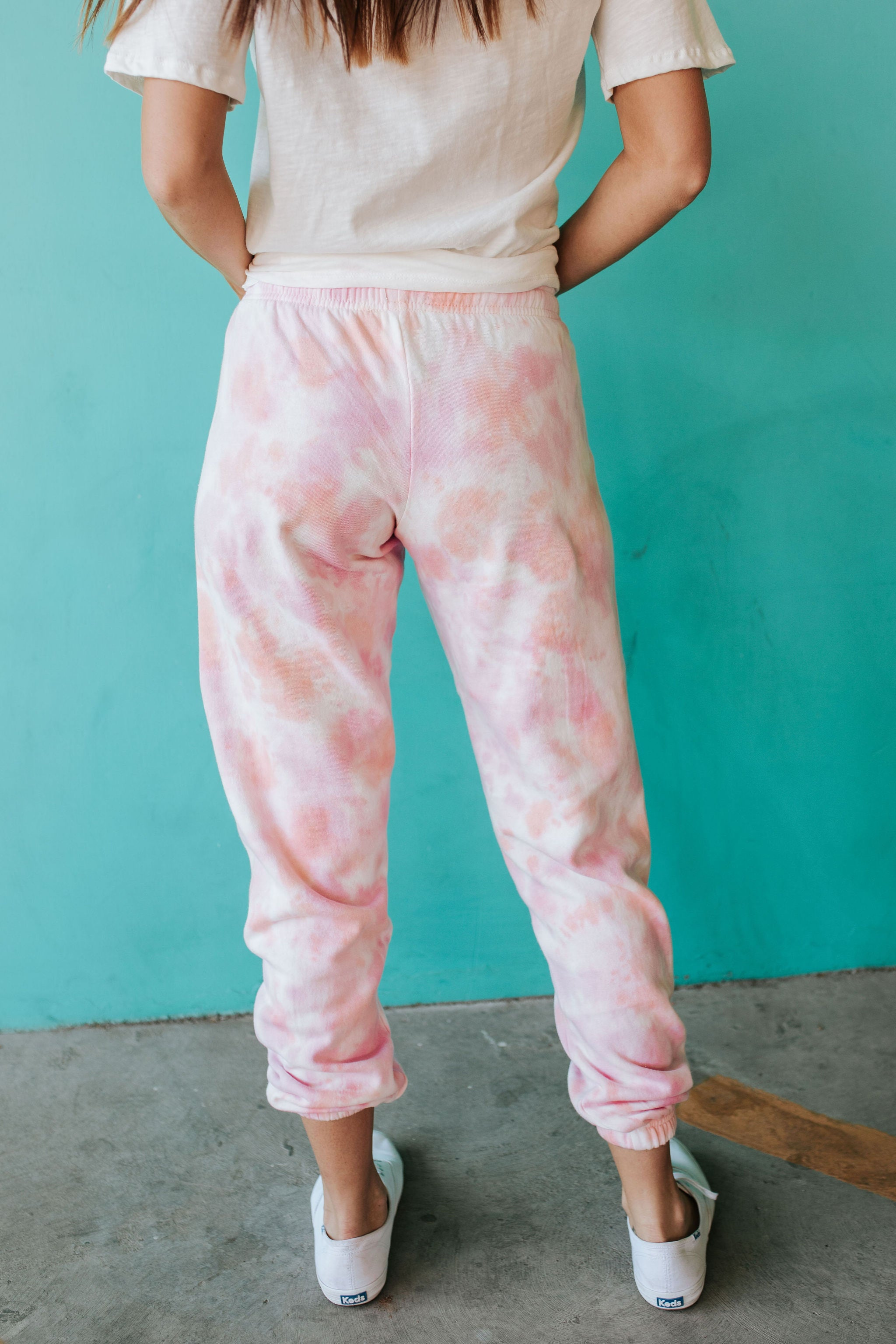 THE SUNSET LOVER TIE DYE JOGGER